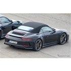 ポルシェ 911GT3 カブリオレ テスト車両スクープ写真