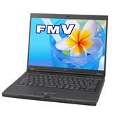 [FMV-BIBLO MG/A75] Core 2 Duo T8100/2GBメモリ/160GB HDD/Draft2.0 11n無線LANを備えた14.1型液晶搭載モバイルノートPC。価格はオープン