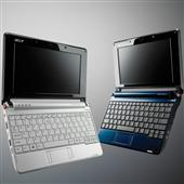 [Aspire one] Atom N270/120GBのHDDを備えた8.9型ワイド液晶搭載NetBook 。市場想定価格は54,800円