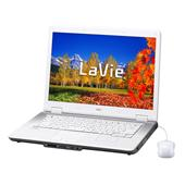 [LaVie L アドバンストタイプ LL750/RG] Core 2 Duo T8100/2GBメモリー/DVDスーパーマルチドライブ/HDMI出力端子を備えた15.4型ワイド液晶搭載ノートPC。市場想定価格は175,000円前後