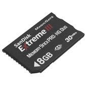 [Extreme IIIメモリースティックPRO-HG Duo カード 8GB] 毎秒30MBで転送可能なメモリースティック PRO-HG Duo(8GB)。価格はオープン