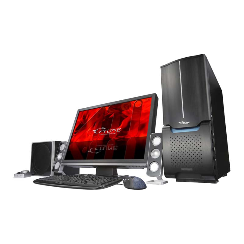 [MASTERPIECE V1200EV2] Core i7 940/Radeon HD 4890×2/12GBメモリー/1TB HDD/Blu- ray Discドライブなどを備えたBTO対応タワー型デスクトップPC。(Windows Vista Ultimate SP1 64bit版)。販売価格は269,850円〜