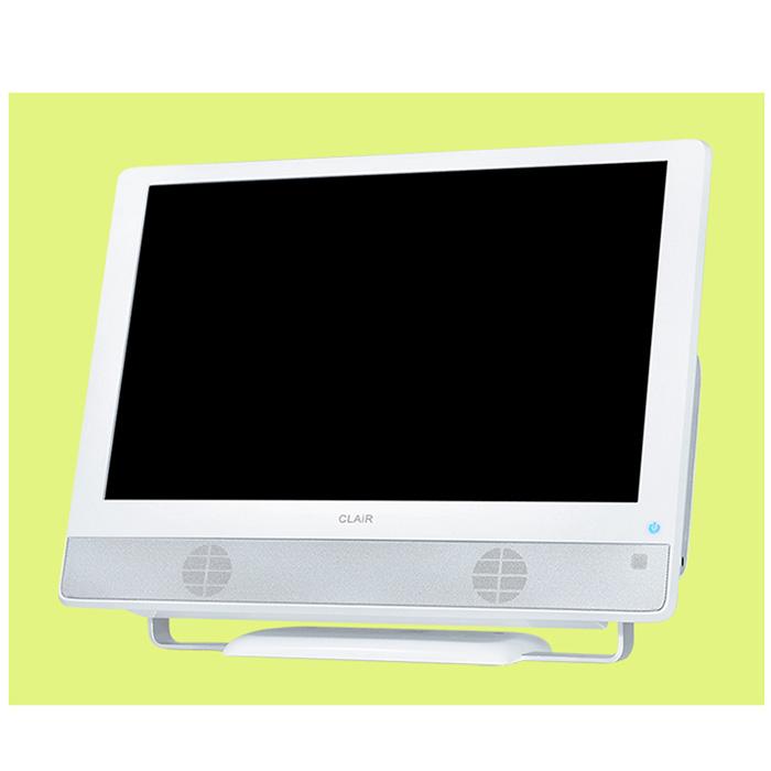 [SK-DTV133JW2] 地上デジタルチューナーを搭載した13.3型液晶TV。価格はオープン