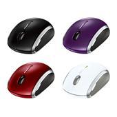 [Wireless Mobile Mouse 6000] BlueTrackテクノロジを採用したモバイル用5ボタンマウス。本体価格は5,600円