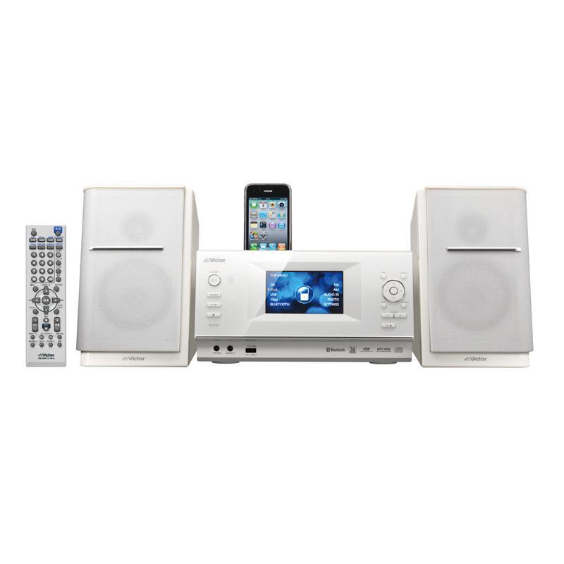 ビクター、ワンセグ搭載のiPod/iPhone対応映像コンポ 画像2
