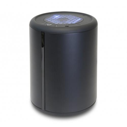 マットブラック塗装の円筒型デスクトップPC
