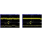 「DRESSING」の効果例。USB端子のBUS(+5V)−GND間の電源波形を計測