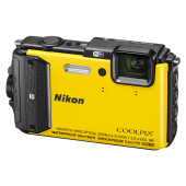 「COOLPIX AW130」イエロー