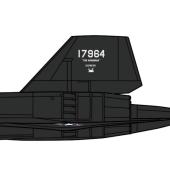 """SR-71A ブラックバード """"ボードーニアン エクスプレス"""""""