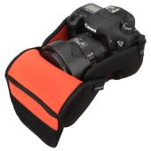 ハクバ ルフトデザイン スリムフィット カメラジャケット L-120 収納イメージ