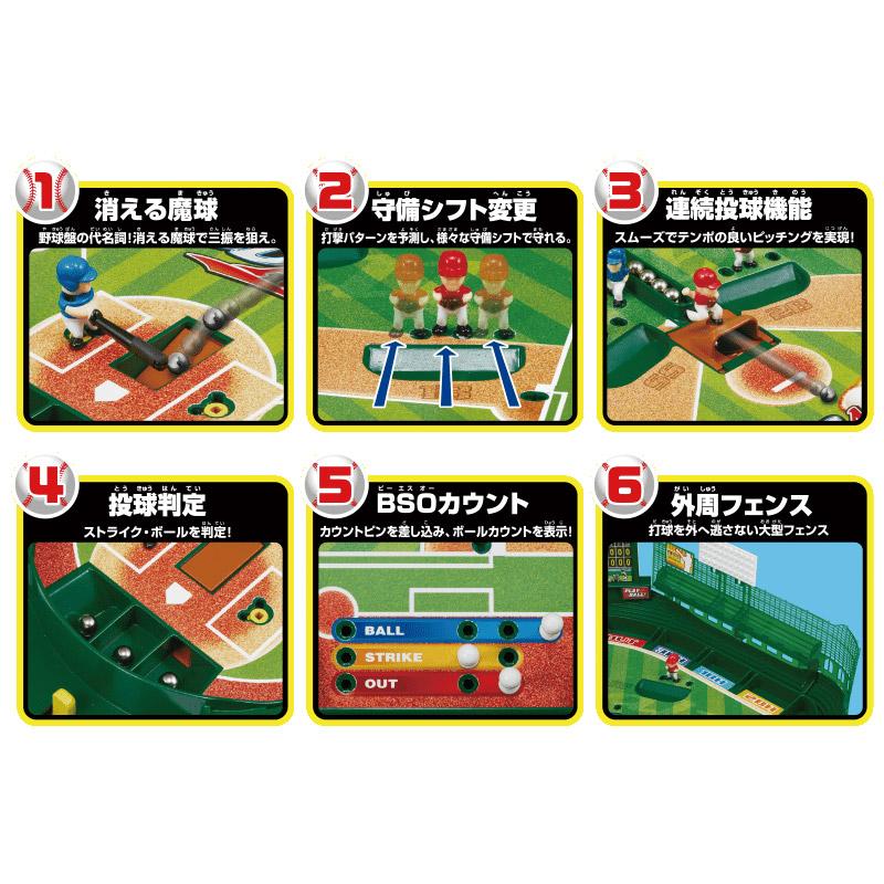 """""""消える魔球""""をピッチャーがリアルに投げる「野球盤 3Dエース スタンダード」 画像3"""