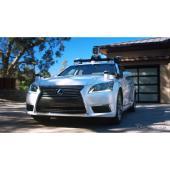 トヨタの最新の自動運転実験車(レクサスLSベース)