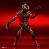 「大怪獣シリーズ ULTRA NEW GENERATION ウルトラマンベリアル 発光Ver.」イメージ