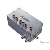 三菱電機が開発した世界最小のHEV用超小型SiCインバーター