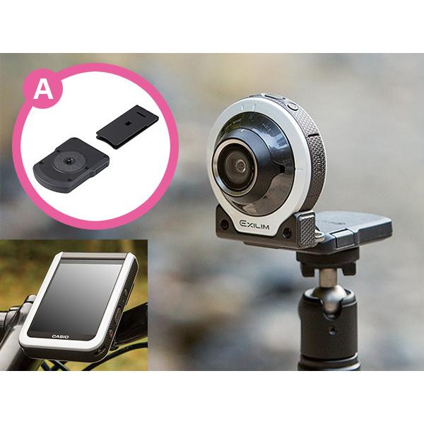 カシオ、自撮り用デジカメ「EX-FR100L」購入でアタッチメントを贈呈 画像1