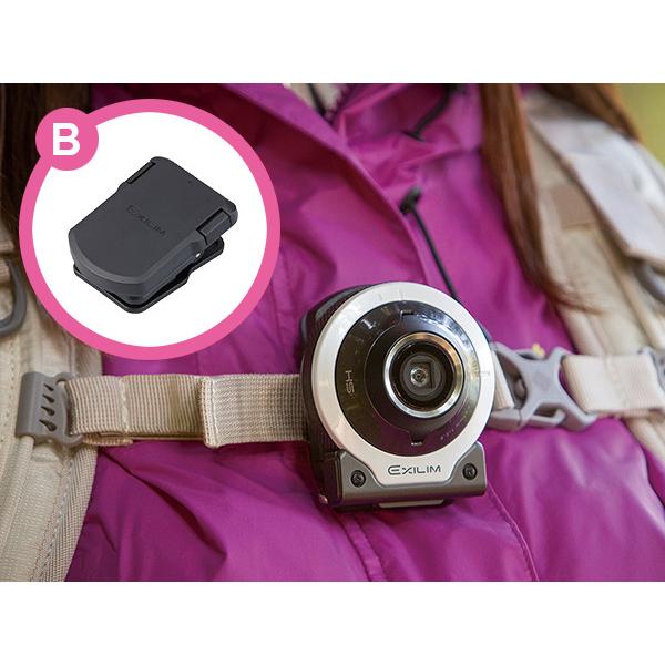 カシオ、自撮り用デジカメ「EX-FR100L」購入でアタッチメントを贈呈 画像2