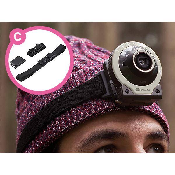 カシオ、自撮り用デジカメ「EX-FR100L」購入でアタッチメントを贈呈 画像3