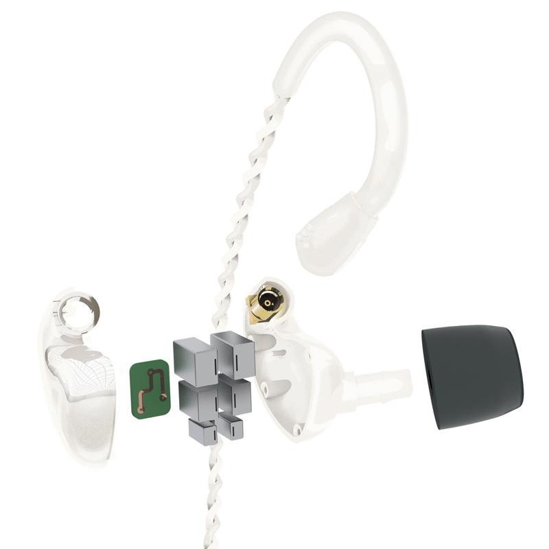 Audiofly、BAドライバー片側6基搭載のインイヤーモニター「AF1120」 画像3