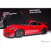 ポルシェ 911 GT3 改良新型(ジュネーブモーターショー2017)