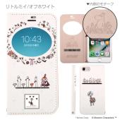 iPhone 7専用 ムーミン フリップ窓付きダイアリーケース