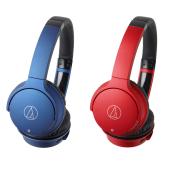 「ATH-AR3BT」ブルー、レッド