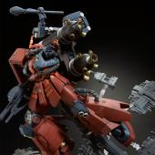 """MG 1/100 高機動型ザク """"サイコ・ザク"""" (GUNDAM THUNDERBOLT版) ラストセッションVer."""