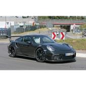 ポルシェ 911 GT3 RS 次期型 スクープ写真