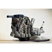 「10A」型ロータリーエンジン。
