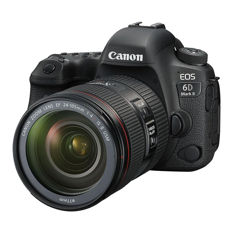キヤノン、バリアングル液晶搭載の「EOS 6D Mark II」を8/4発売 画像1