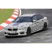 BMW M5 スクープ写真