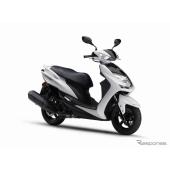 ヤマハ シグナスX XC125SR、カラーリング変更…新排出ガス規制にも適合