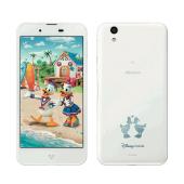 「Disney Mobile on docomo DM-01J」ホワイト