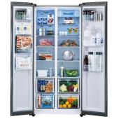 """AQUA、左側に冷凍室、右側に冷蔵室の""""パノラマ・オープン""""冷凍冷蔵庫"""