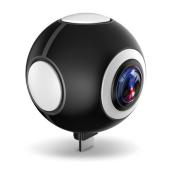 FRONTIER、USB OTG対応のAndroidスマホ用「720度パノラマビデオカメラ」