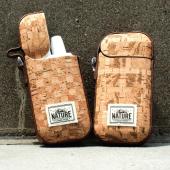 加熱式タバコ「IQOS」に、軽くしなやかなコルク素材の専用保護ケース