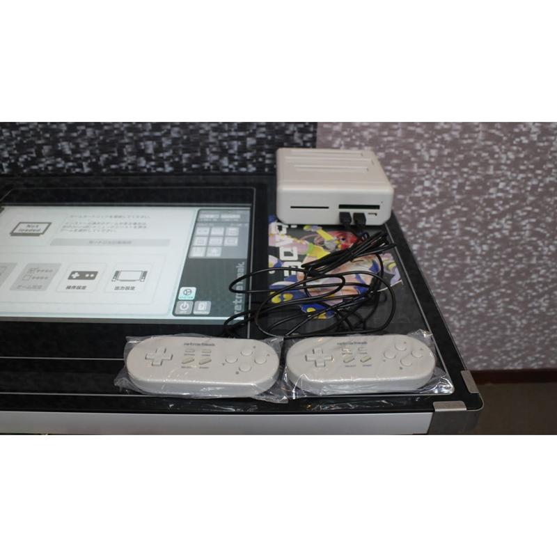 レトロゲーム互換機「レトロフリーク」内蔵のテーブル筐体が9台限定発売 画像2