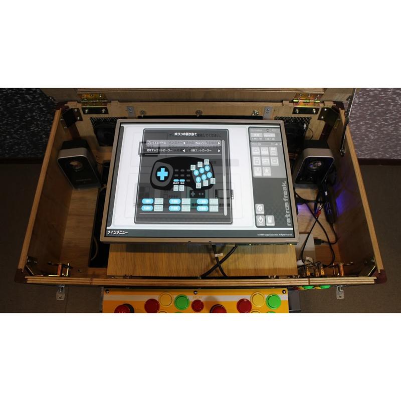 レトロゲーム互換機「レトロフリーク」内蔵のテーブル筐体が9台限定発売 画像3