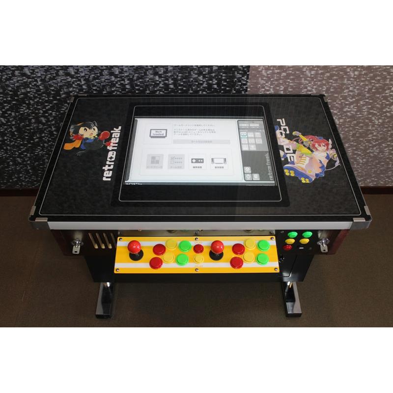 レトロゲーム互換機「レトロフリーク」内蔵のテーブル筐体が9台限定発売 画像5