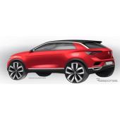 VW T-Roc のイメージスケッチ