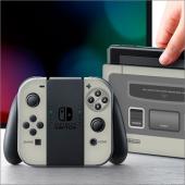 「レトロゲームスキンシール SFC for Switch」