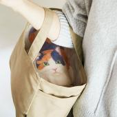 バッグの中に猫!? 猫と目があう目隠しトートバッグ