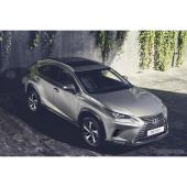 レクサス NX 改良新型の欧州仕様車