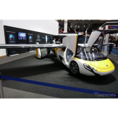 AeroMobil(フランクフルトモーターショー2017)