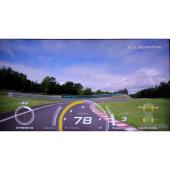 ゲームではなく、こんな画面でサーキット走行を分析できる