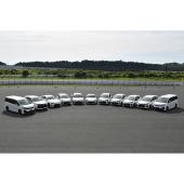 新たにラインナップされる、トヨタ「GRシリーズ」の主要モデル。