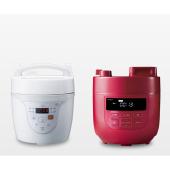 シロカ、デザイン一新&圧力値がアップした電気圧力鍋「SP-D131」