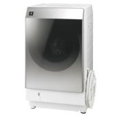 シャープ、ハーフミラーガラスを採用したスタイリッシュな洗濯乾燥機2種