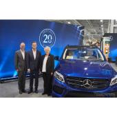 メルセデス、米工場に投資---EQブランドの新型EV生産へ