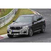BMW X3 M スクープ写真