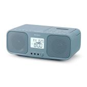 ソニー、CDラジカセ「CFD-S401」にWEB限定の新色ブルーグレー